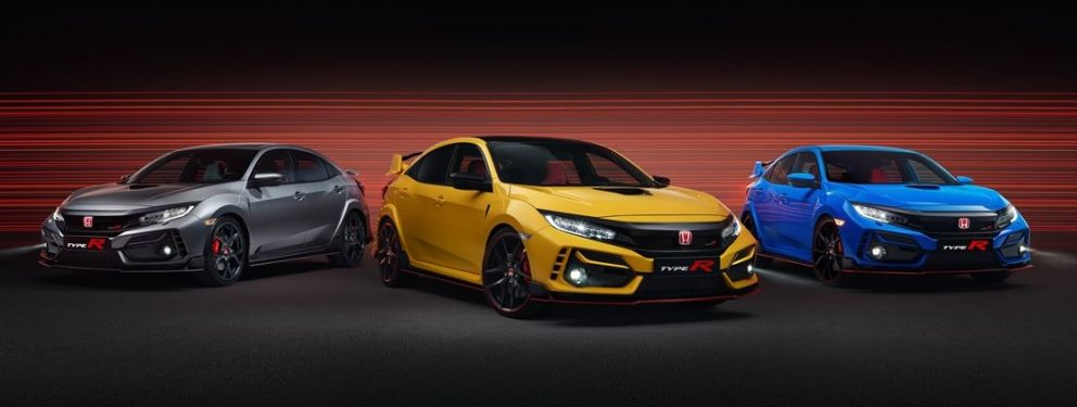 HONDA CIVIC TYPE R Limited Edition + Sport Line